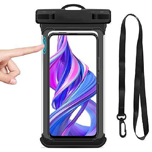 BoxLegend wasserdichte Hülle IPX8 6,7 Zoll wasserdichte Handyhülle für iPhone 11/11 Pro/11 Pro Max/X/XS Max/8 Plus/7 Plus/8/7 Galaxy S10/S9/S8 Pixel LG HTC Handytasche für Handy Bis Zu 6,5 Zoll