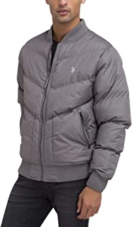 Mens Quilted Recon Bomber Jacket
