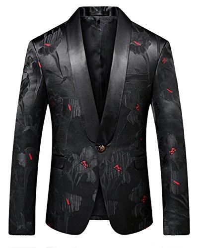 Black Sports Coats Patterned