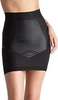Yummie Womens YT5-192 Women's Seamless Firm Control Shapewear Skirt Slip Shapewear Half Slip