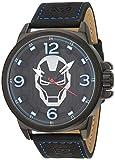 Reloj Umbro Marvel Unisex , pulsera de Piel de Becerro