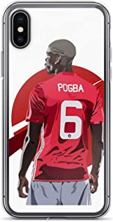 iPhone Xs Max Pure Clear Case Cases Cover Paul Pogba Manchest United