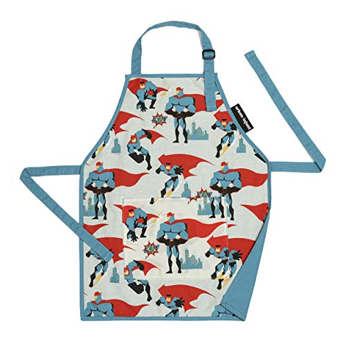 Urban Infant Little Helper Apron for Children | Kids, Cooking Baking Crafting Art Gardening, Boys and Girls, Machine Washable - Small - Urban Dude