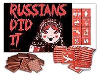 ロシア人はそれをしました、 ビッグチョコレートギフトセット、 1箱24枚入り、25x18cm, RUSSIANS DID IT Big Box (Matryoshka)
