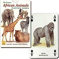 【トランプ】アフリカン・アニマル【アフリカに生息する動物達】