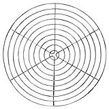 Städter 464070 Tortengitter rund, chrom / silber, 32 x 32 x 1,5 cm
