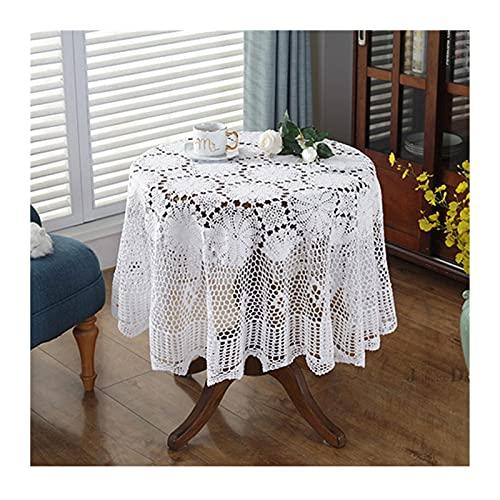 Mantel de Mesa Elegante mesa redonda cubiertas de encaje Mantel de...