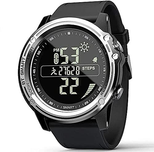 wyingj Reloj impermeable IP68 Smart Watch Bluetooth Información Push Smart Watch Podómetro Multi-función pulsera inteligente