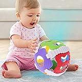 ECMQS Baby Hand Glocke Spielzeug, Rattles Sway Sound Griff Ball Finger Aktivität Lernspielzeug, 1 STÜCK Zufällige Farbe