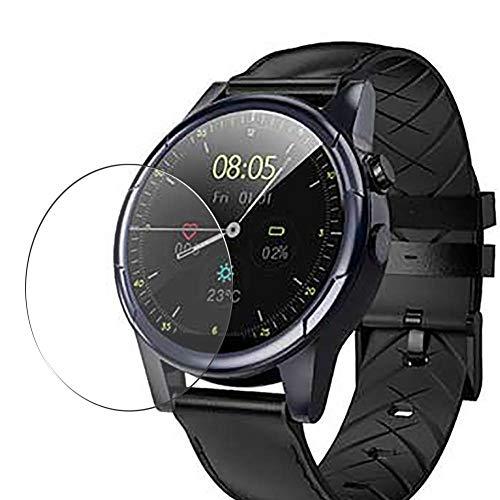 Vaxson - Pellicola proteggi schermo in vetro temperato, compatibile con smartwatch Makibes M361, pellicola protettiva 9H, confezione da 3