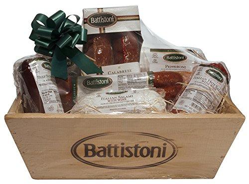 Gluten-Free Gourmet Italian Meat Gift Basket - over 3.8lb of meat!