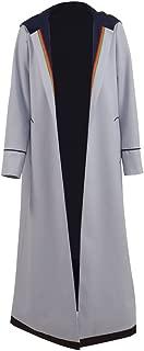 Xiao Maomi Womens 13th Cosplay Costume Halloween T Shirt Coat Full Set Long Trench Coat
