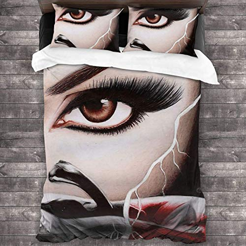 Just Contempo - Set di biancheria da letto matrimoniale con 2 federe per cuscino, motivo: Once Upon A Time S6, 218,4 x 177,8 cm, super morbido e caldo