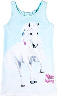 Miss Melody Niñas Vestido, Azul