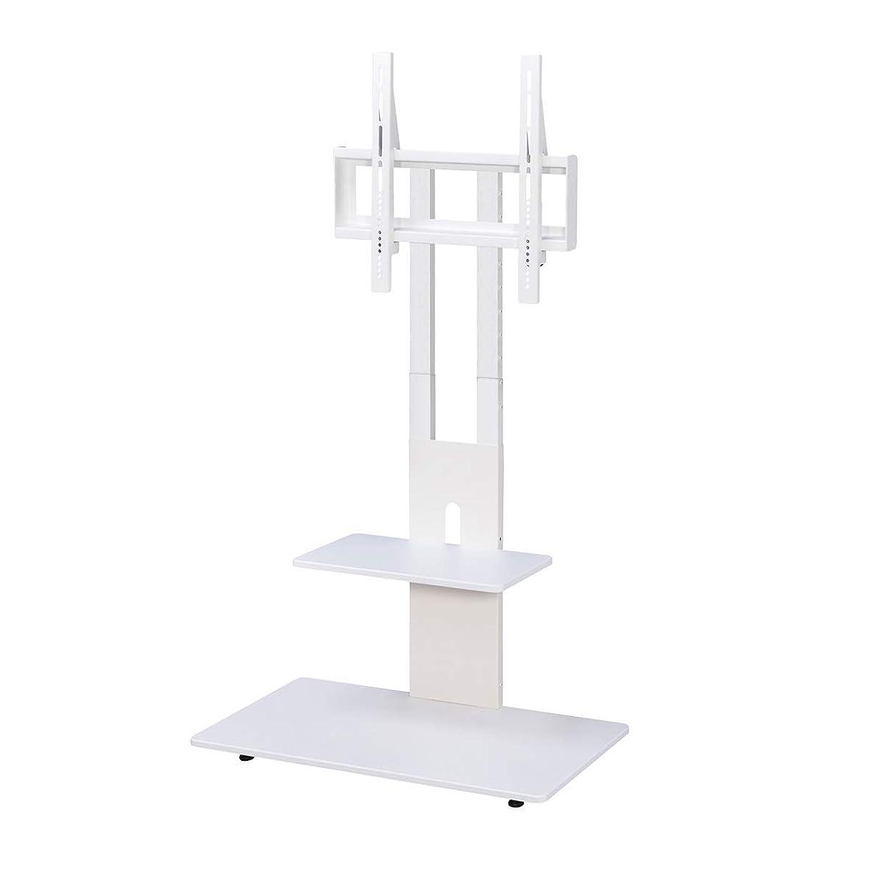 賠償厚いうまれたSun Ruck 壁寄せテレビスタンド ハイタイプ 32~65インチ対応 VESA規格対応 SR-TVST05 ホワイト