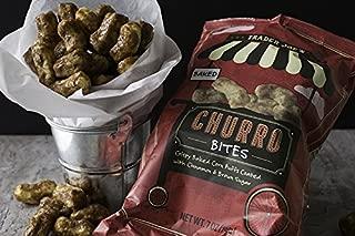 Trader Joe's - Churro Bites 7 OZ - Crispy Baked Corn Puffs Coated with Cinnamon & Brown Sugar