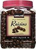 Kirkland Signature Milk Chocolate, Raisins, 54 Ounce x 2 (Pack of 2)