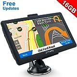 Jimwey GPS Navi Navigation für Auto LKW PKW 7 Zoll