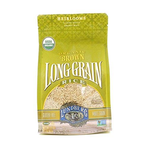 Lundberg Family Farms Brown Rice, Long Grain, Gluten Free, Organic, 2 lb
