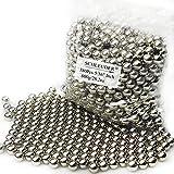 Tirachinas Slingshot Bolas de Acero Munición, 8mm 382pcs Bolas de Acero al Carbono, para Tiro al Blanco Catapulta de Caza Potente