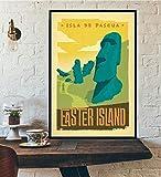 Mundo Europeo Ciudad Turismo Viajes Retro Paisaje Cartel Pared Arte impresión sobre Lienzo decoración del hogar Pintura sin Marco 40X60 cm