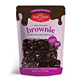 25% MORE CHOCOLATE - Miss Jones Baking Co.'s Everyday Delicious Fudgy Brownie Mix has 25% more chocolate chips than the leading brand, delivering gooey deliciousness in every bite! 100% WHOLE GRAIN - Made with 100% whole wheat flour, you can feel goo...