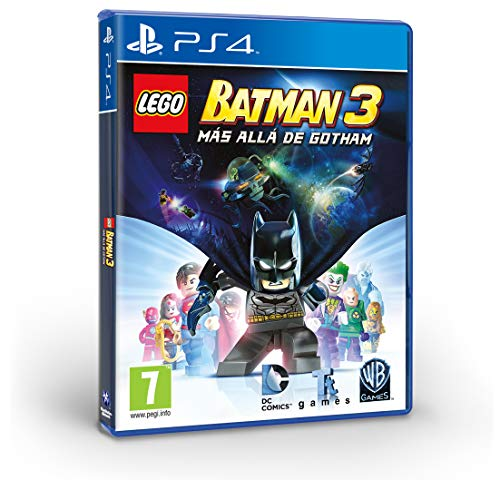 LEGO Batman 3: Más allá de Gotham - Edición Exclusiva Amazon - PlayStation 4
