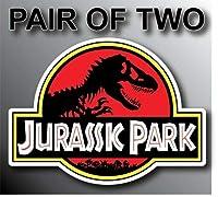 Jurassic Park USA ジープ ルビコン ラングラー 恐竜 バン ステッカー グラフィック - バンパー ウィンドウ ノートパソコン ロッカー ウォーターボトル フォルダー ステッカー サイン