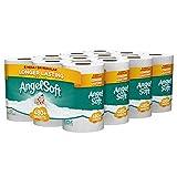 ANGEL SOFT Toilet Paper Bath Tissue, 24 Mega Rolls, 480+ 2-Ply Sheets Per Roll