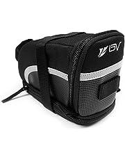 BV(ビーブイ) 自転車 サドルバッグ ストラップ式 自転車バッグ シートバッグ 容量拡張 耐水性