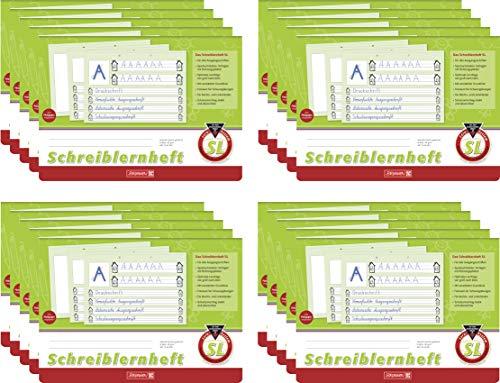 Brunnen Schreiblernheft (20 Hefte, Lineatur SL)