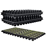 10 Pack Seed Starter Kit 72 Cell Seed Tray for Seed Germination, Mini Propagation, Soil & Hydroponics, Germination Plugs,Plant Grow Kit