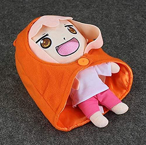 DINGX Plüschspielzeuge Cartoon Anime Himouto Umaru-Chan Mantel Mit Kapuze Girl Schöne Gefüllte Puppen für Gilrs 10 26cm Chuangze