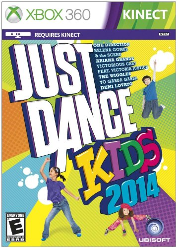 Just Dance Kids Rated E for Everyone Xbox 360 Kinect
