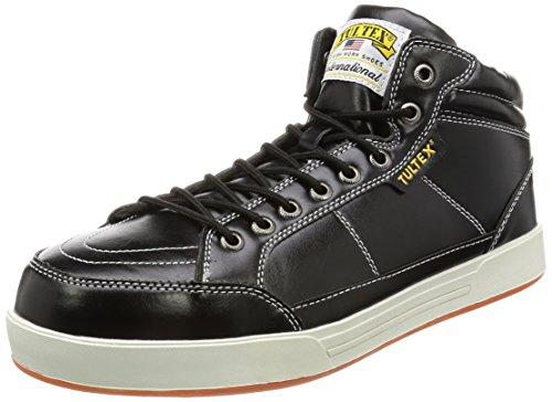 [AITOZ]アイトス 51633_010 25.5cm TULTEX タルテックス セーフティシューズ 作業靴 ミドルカット 鋼製先芯 3E ブラック