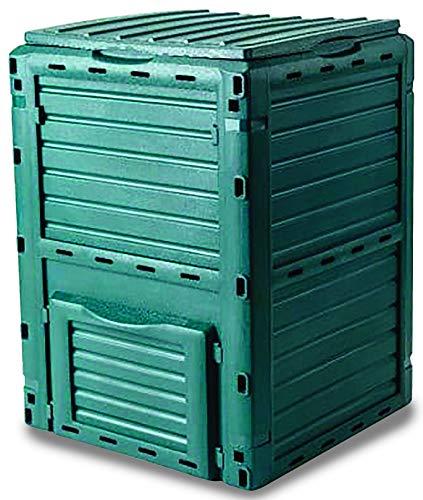 Garden Friend C1933431 Composter 300 l en polypropylène résistant aux intempéries, vert