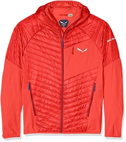 Salewa Ortles Hybrid 2 Prl M Jkt - jas voor heren, kleur rood, maat 52/XL