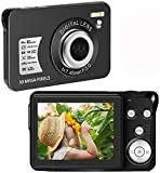 Digital Camera 30 Mega Pixels Student Camera Mini Camera 2.7 Inch HD 1080P Camera with 8X Digital Zoom Compact Camera