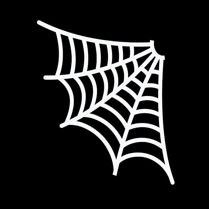 BUY 1 GET 1 FREE Spider web Halloween Vinyl Decal Sticker BOGO