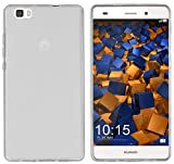 carcasa Mumbi protectora Huawei P8 Lite(2015) silicona TPU blanco transparente.