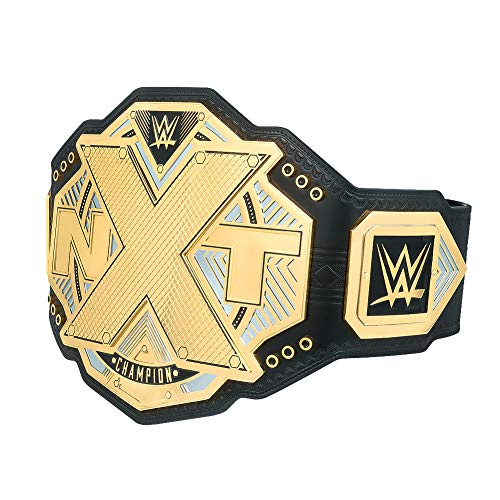 WWE Authentic Wear NXT Championship Commemorative Title Belt Gold