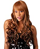 [NEW BORN FREE] BRAZILIAN TRESS SYNTHETIC HAIR WIG - Moroccan Wave style (TX/MOCHA)