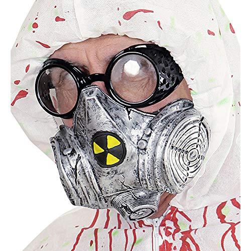 Widmann 00831 gasmasker, grijs, één maat