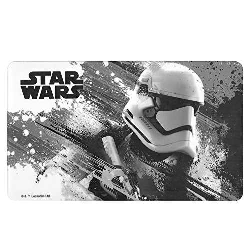 Star Wars Brettchen Episode VII, Stormtrooper Brett, Melamin, Mehrfarbig, 23 x 14 x 0.5 cm