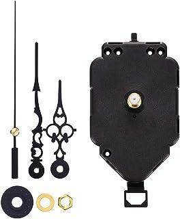 sharprepublic HR9611-1 Kit Profesional De Movimiento De Péndulo De Reloj De Pared con Movimiento De Cuarzo Adecuado para Un Grosor De Panel De Aproximadamente