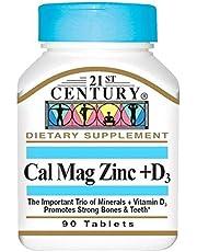 21st Century CAL MAG ZINC + D 90 TABS