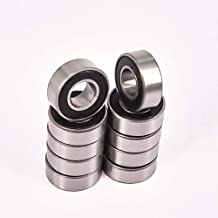 10Pack 5x11x4mm MR115-2RS Miniature Ball Bearing Double-Shielded Steel Bearing Suitable for 3D Printer Durable Wholesale