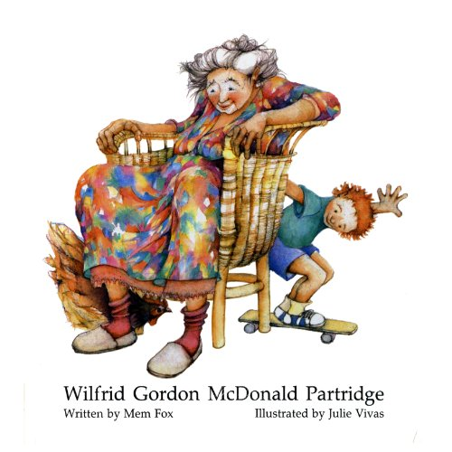 Wilfrid Gordon McDonald Partridge audiobook cover art