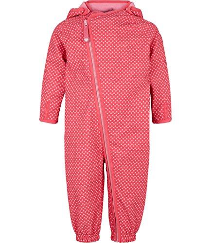 Racoon Baby-Mädchen Frigg Softshellanzug Wassersäule 5.000 Schneeanzug, Rosa (Honeysuckle Hon), 80