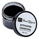 Supreme'Bianco Naturale' Activated Charcoal 100% Natural Tooth Polish Whitens Teeth Sparkling Clean With a Natural Look. No Bleaching Chemicals or Baking Soda. Freshens Breath, Improves Gums